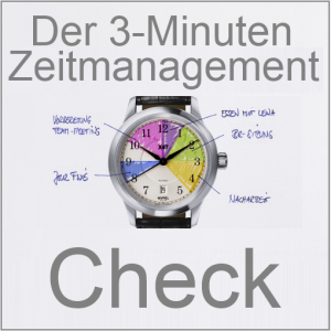 3-Minuten-Zeit-Management-Test